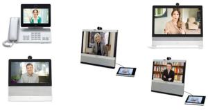 Cisco Videoconferencia Equipos de videoconferencia para escritorio DX650, DX70, DX80, EX60, EX90