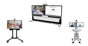 Polycom Equipos de Videoconferencia Utitlity Cart 500 para Hospitales, EduCart 500 para Educación y RealPresence Medialign para Empresas