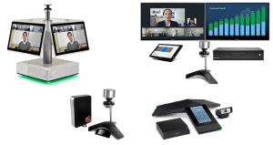 Polycom Equipos de Videoconferencia para Salas Full HD CX5100, CX5500, CX8000, RealPresence Centro, RealPresence Trio