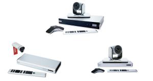 Polycom Equipos de Videoconferencia Full HD para Salas de Reuniones RealPresence Group 310, 500, 700
